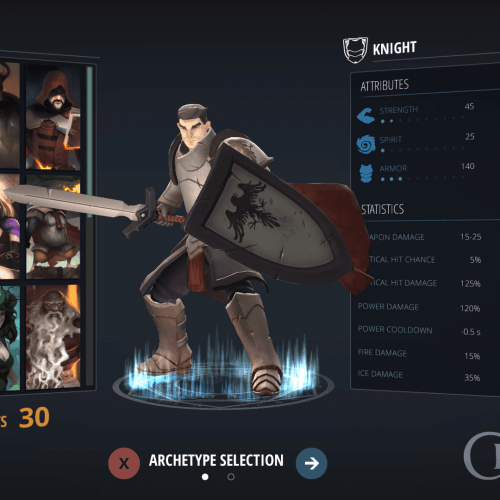 Crowfall – Modification de la gestion des armures