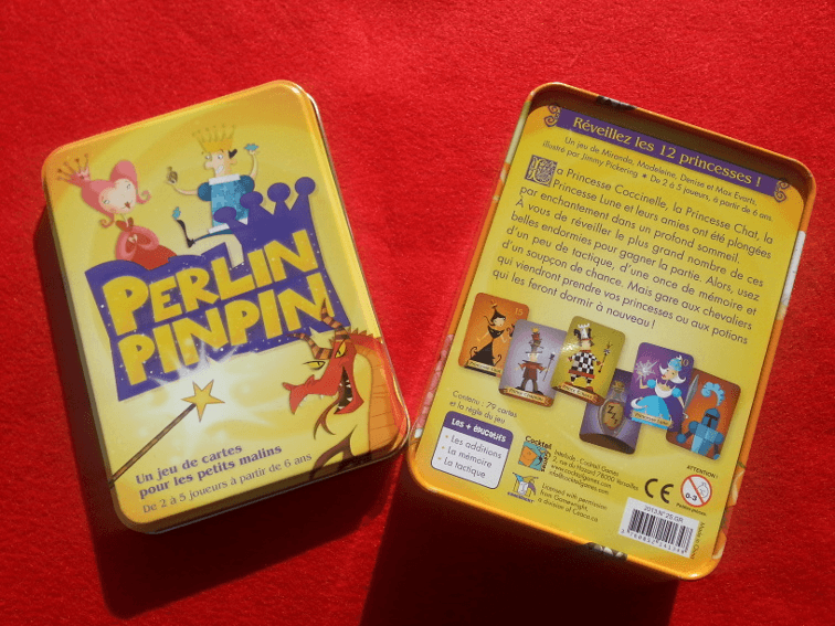 boite du jeu Perlin Pinpin