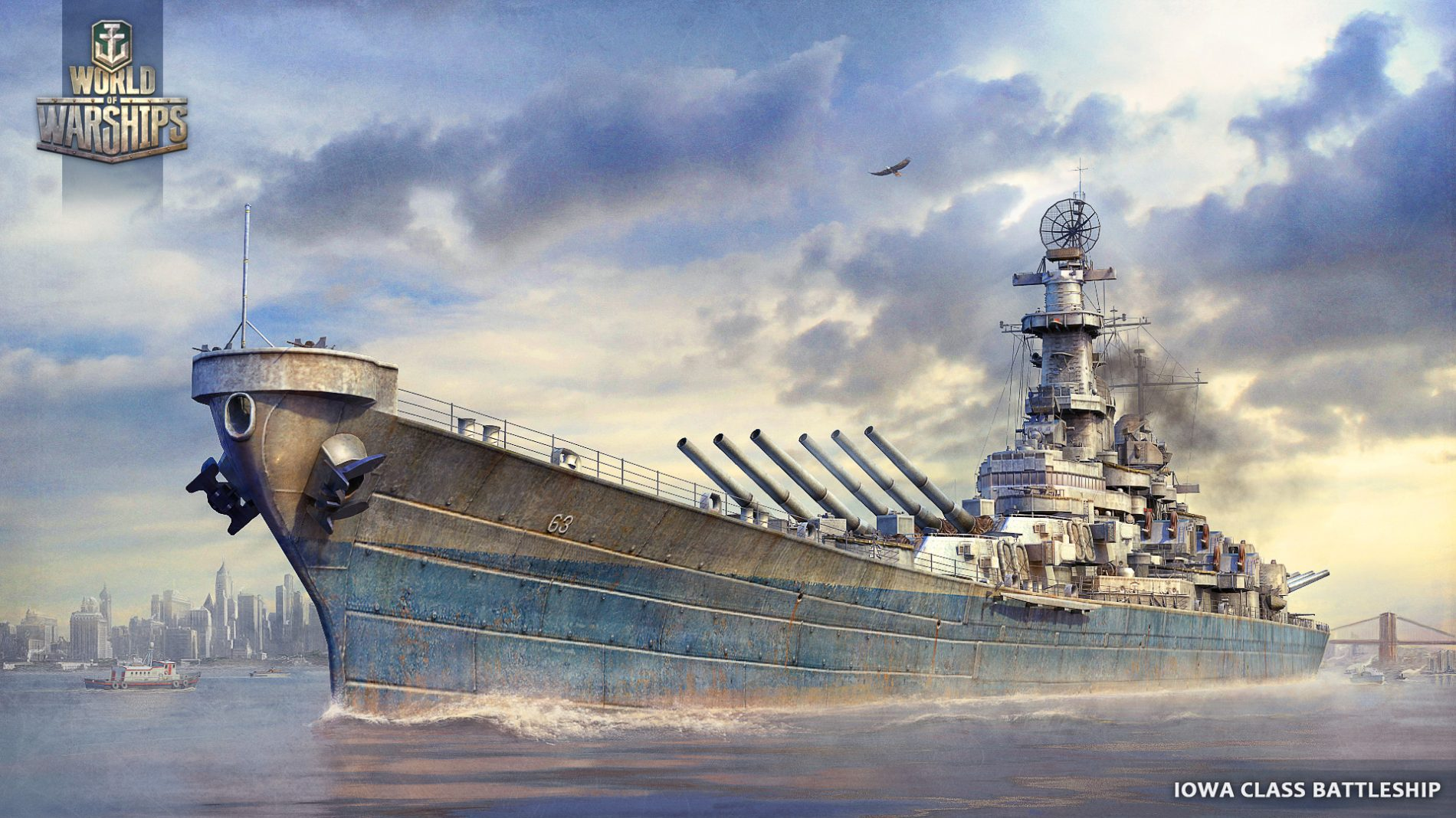 World of Warship est en Beta ouverte