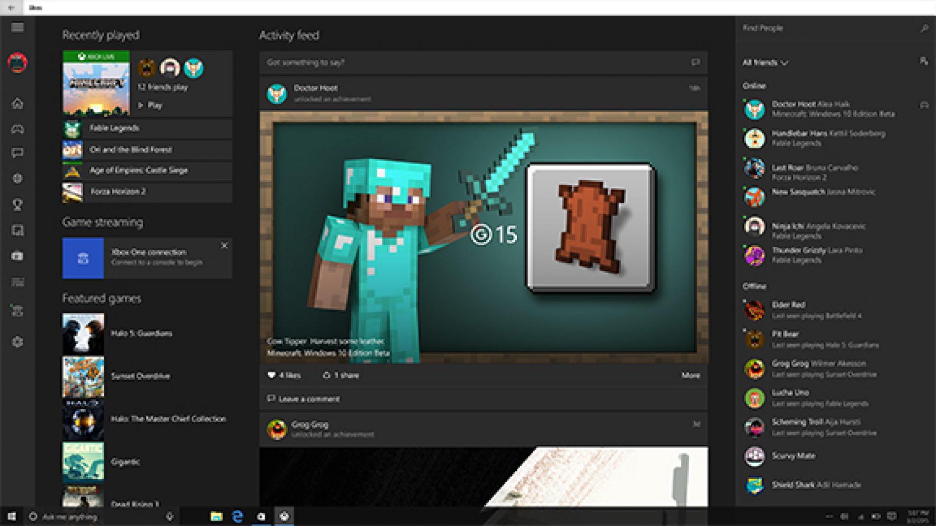 Streaming Xbox One vers Windows 10 – Le verdict