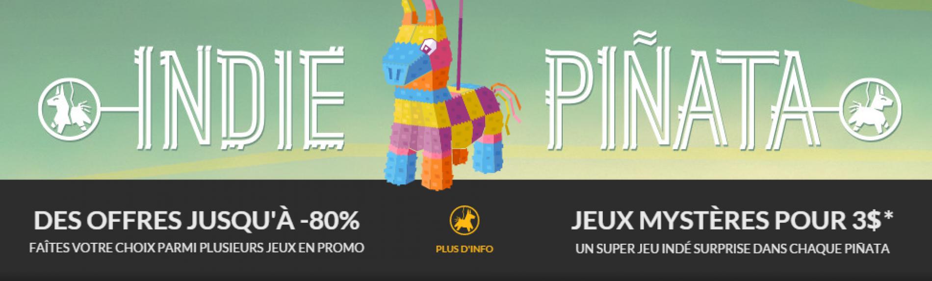 GOG.COM Viva Indie Pinata ! (Publi-Communiqué)