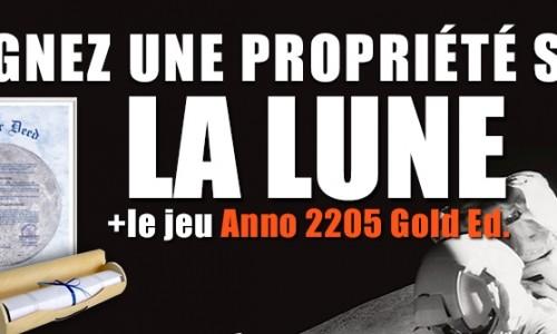 Proprio sur la Lune grâce à Anno 2205 !