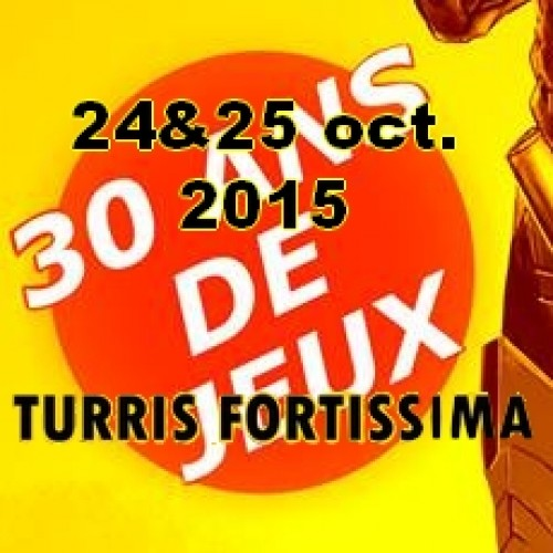 Nuit du jeu à Tournon les 24 & 25 octobre 2015