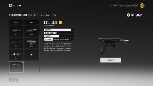 Le DL-44 ne fait pas le bon joueur. Pourquoi dis-je ça ? PARCE QUE !!!!