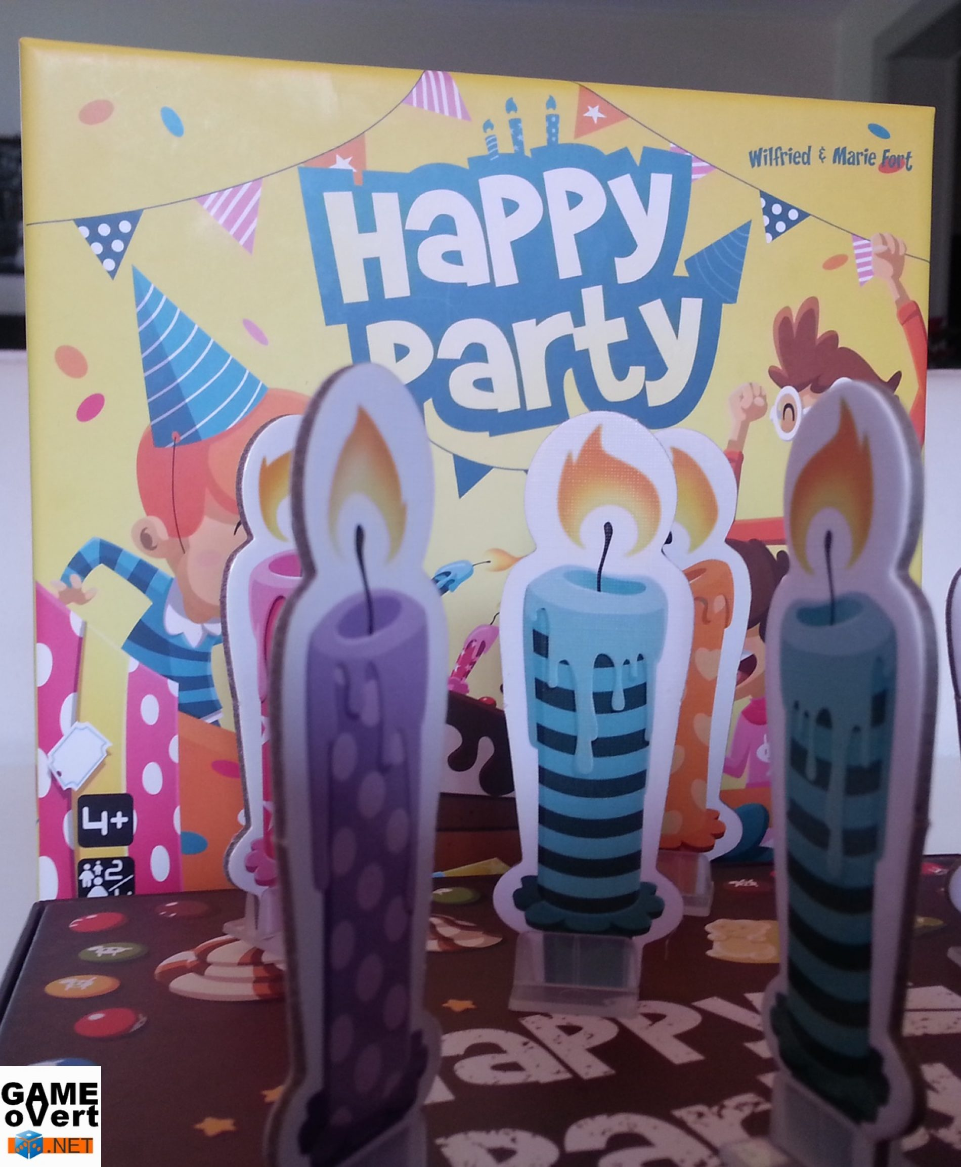 Happy Party : pour souffler un peu.