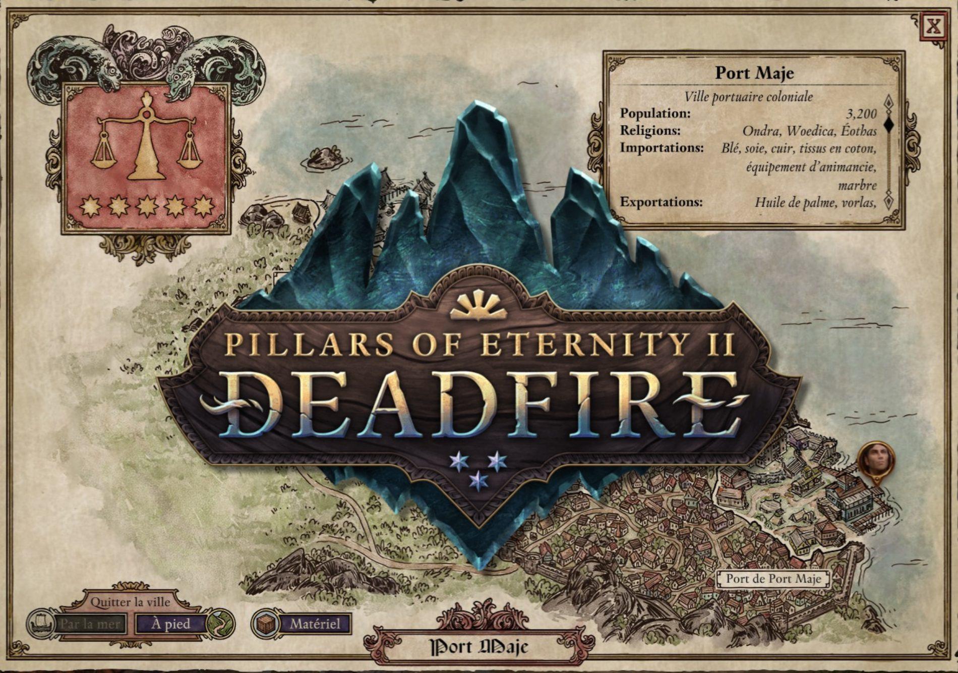Pillars of Eternity 2 : Deadfire