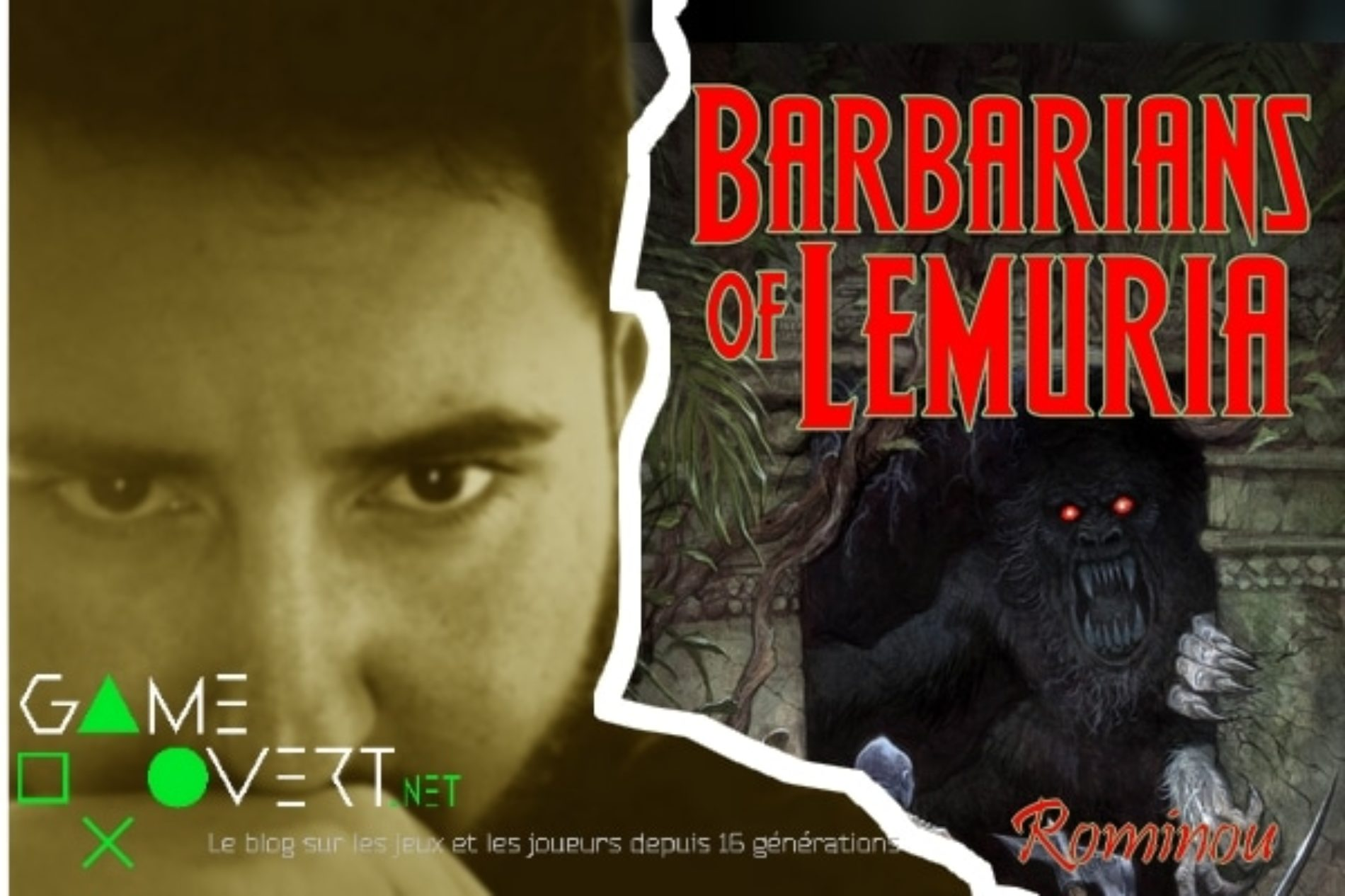 Barbarian of Lemuria par Rominou