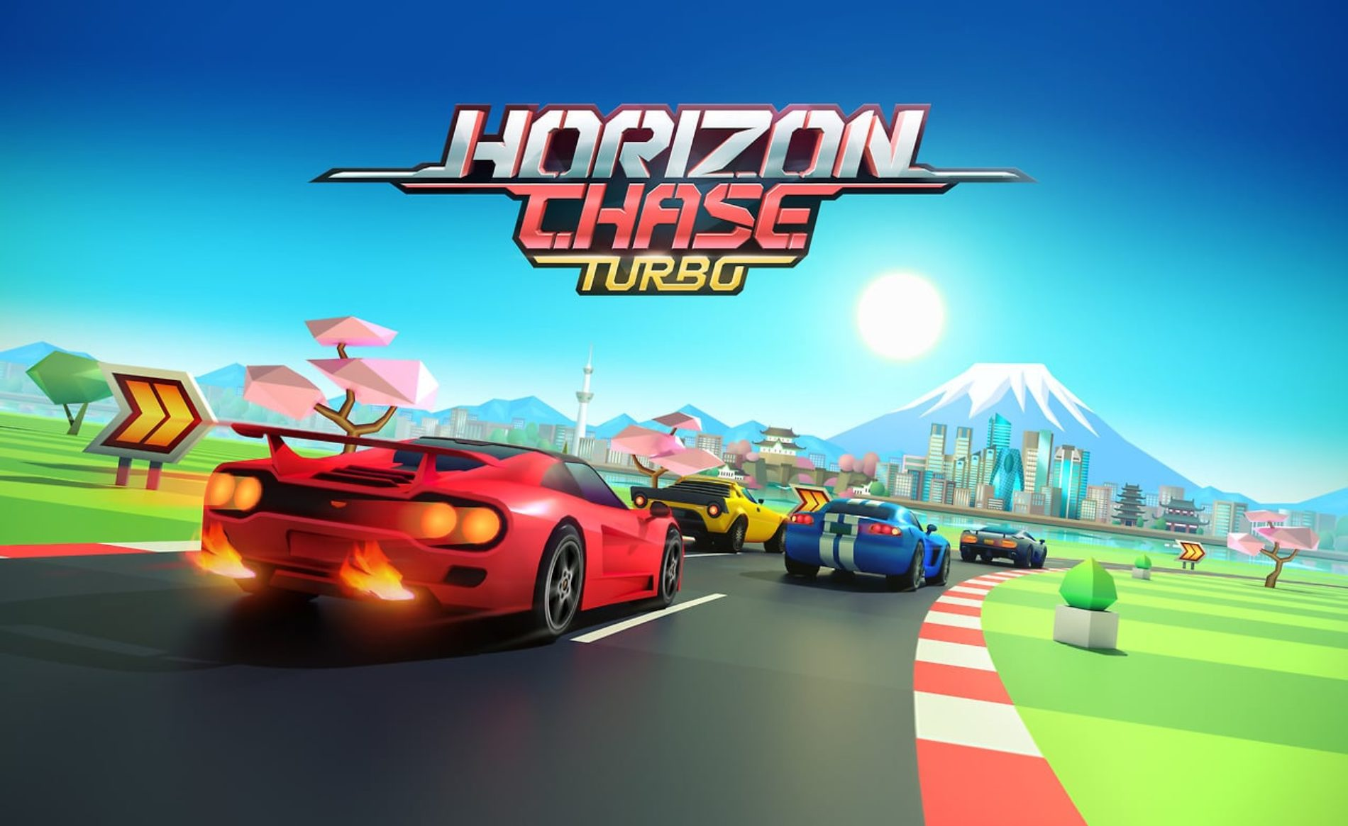 Horizon Chase Turbo – PC, PS4 et Switch
